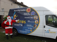 Santa Hire Cork for Home visits, Corporate Christmas Parties and Private Parties