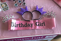 Birthday Sash and Tiara