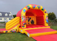 Bouncy Castle with slide Cork