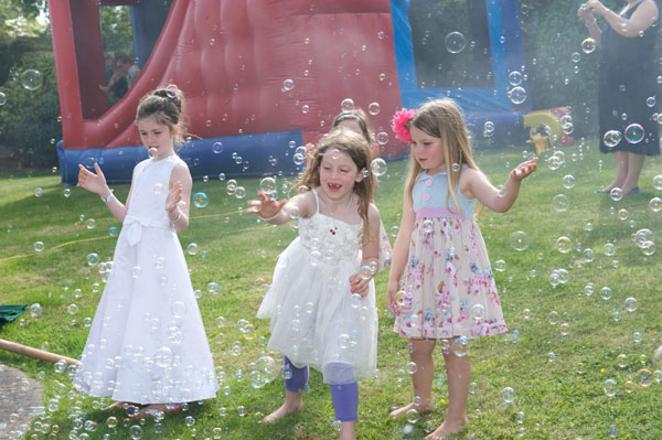 Bubble Machines for Hire Cork