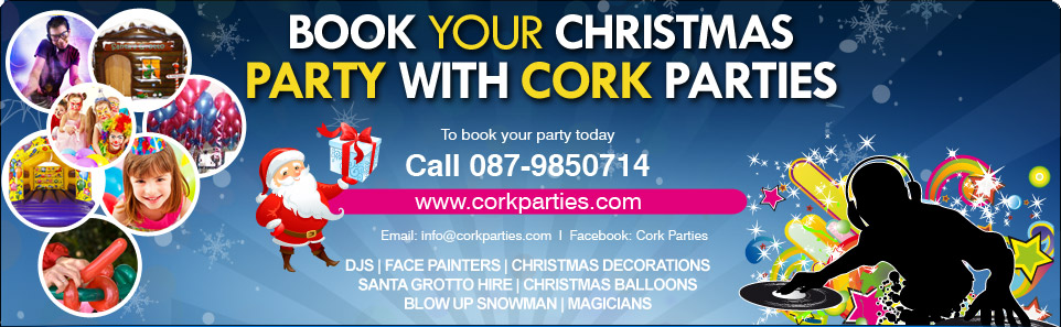Kids Party DJ, Bouncing Castle Hire Cork, Karaoke Hire