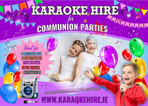 Entertainment for Communions Cork